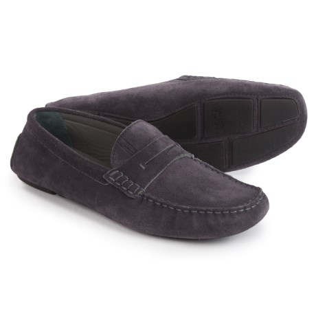 Armani Suede Moc Loafers (For Men)