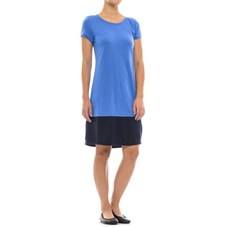 Ibex Hildie Dress - Merino Wool, Short Sleeve (For Women)