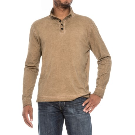 True Grit Weathered Henley Shirt - Long Sleeve (For Men)