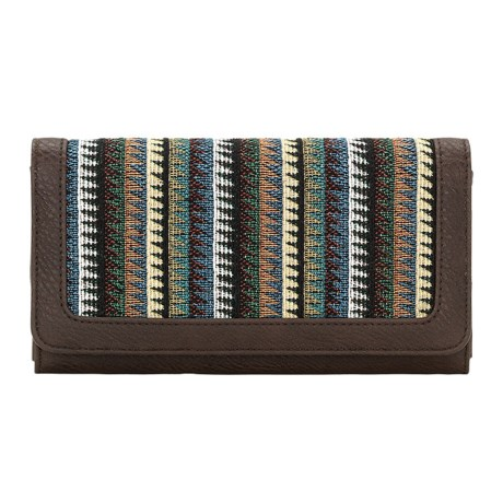 Bandana by American West Tulum Flap Wallet (For Women)