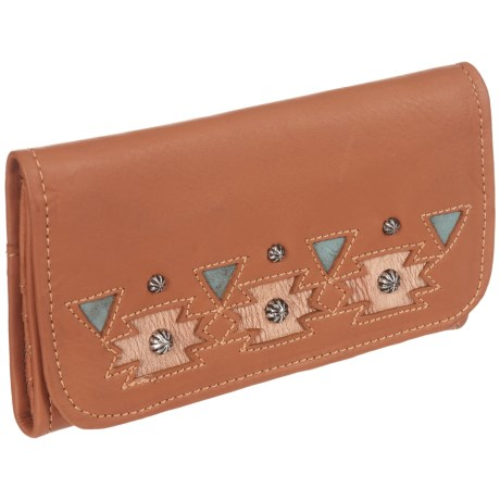 American West Chenoa Trifold Wallet - Leather (For Women)