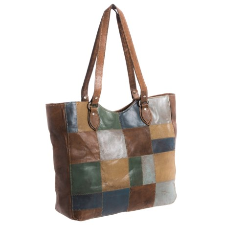 American West Groovy Soul Large Tote Bag - Leather (For Women)