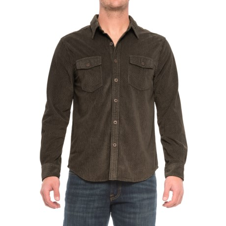 True Grit Sueded Corduroy Shirt - Long Sleeve (For Men)