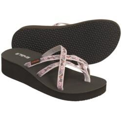 Teva Mandalyn Wedge Ola Sandals - Thongs (For Women)