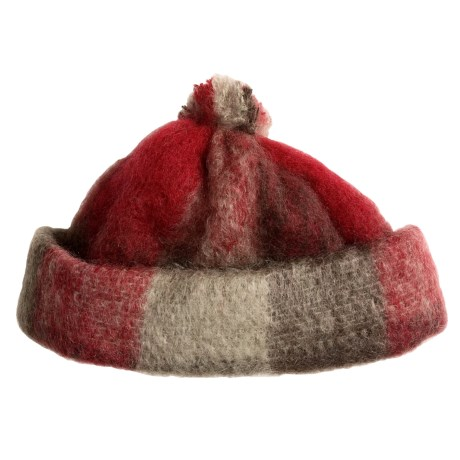 Donegal Design Pull-On Hat - Mohair Boucle