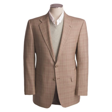Hickey Freeman Houndstooth Sport Coat - Worsted Wool (For Men)