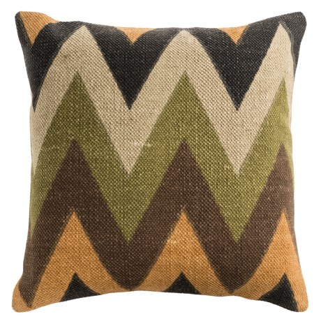 Rizzy Home Zigzag Print Decor Pillow - 20x20""
