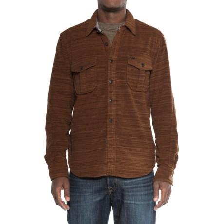 True Grit Lux Field Fleece Shirt Jacket - Long Sleeve (For Men)