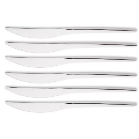 WMF Nordic Steak Knives - Stainless Steel, Set of 6