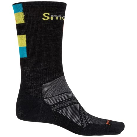 SmartWool PhD Ultralight Cycle Socks - Merino Wool, Crew (For Men)