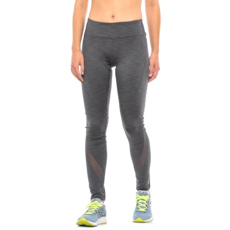 Reebok Trainer Fleece-Backed Leggings (For Women)