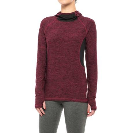Reebok Reflection Hoodie Shirt - Long Sleeve (For Women)