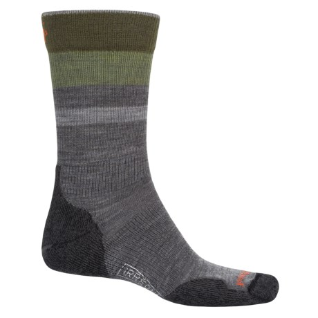 SmartWool PhD Outdoor Light Hiking Socks - Merino Wool, Crew (For Men and Women)