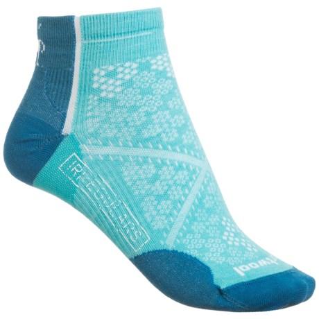 SmartWool PhD Cycle Ultralight Low Socks - Merino Wool, Ankle (For Women)