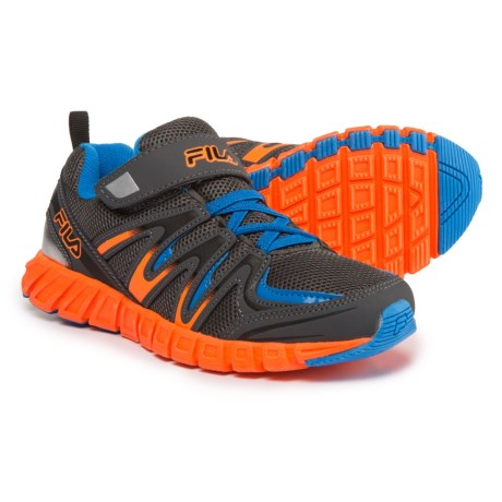 Fila Crater 6 Strap Running Shoes (For Boys)