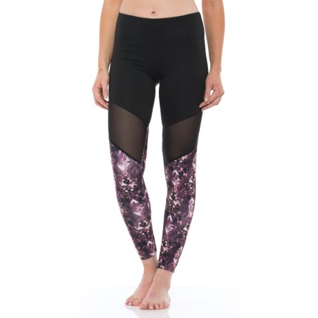 Balance Collection High-Waist Crystalize Leggings (For Women)