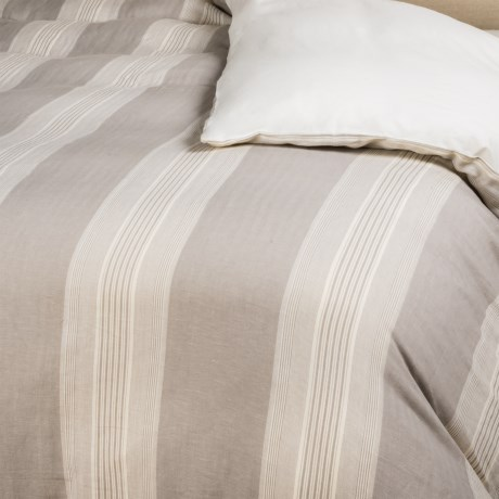 Rizzy Home Stripe Duvet Cover - King