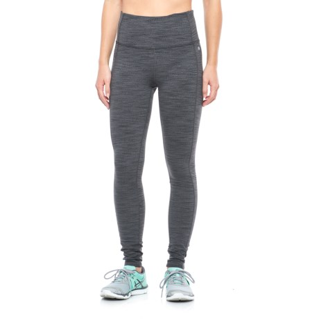 Layer 8 Textured Chevron Leggings (For Women)