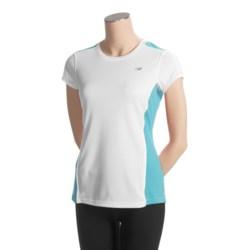 New Balance CB Tempo T-Shirt - UPF 20+, Short Sleeve (For Women)