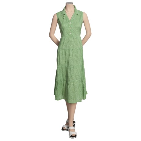 Vermont Country Store Sherbet Sundress - Cotton, Sleeveless (For Women)