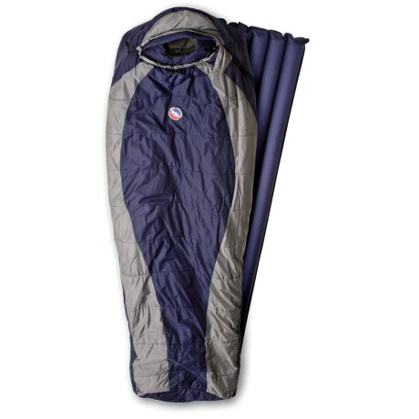 Big Agnes 20°F Gold Creek Sleeping Bag with Sleeping Pad - Long Rectangular, Synthetic