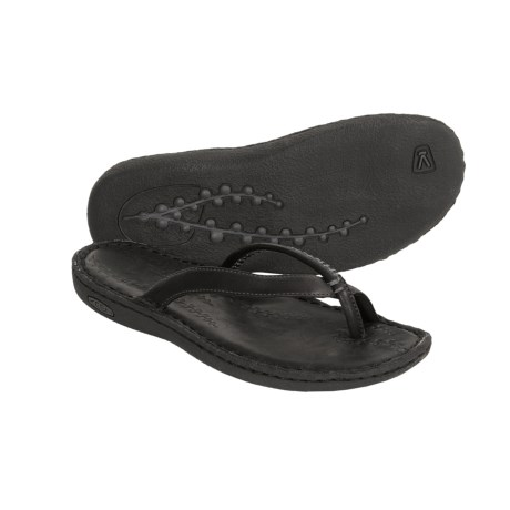 Keen Katie Thong Sandals - Leather Flip-Flops (For Women)