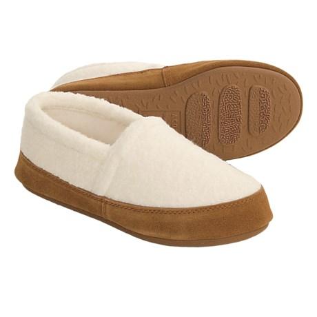 Acorn Berber Tex Moccasin Slippers (For Women)