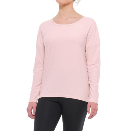 Apana Strappy Open-Back Shirt - Long Sleeve (For Women)