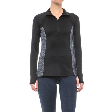 Layer 8 ColdGear® Tech Shirt - Zip Neck, Long Sleeve (For Women)