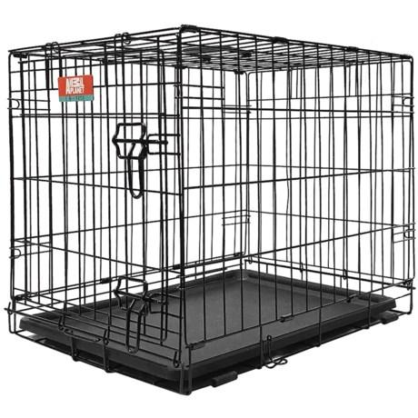 """Animal Planet Single Door Metal Dog Crate - 19x12x14"""""""