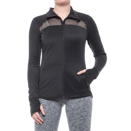 Layer 8 Stretch-Knit Jacket - Full Zip (For Women)