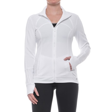 Apana Knit Jacket - Full Zip (For Women)