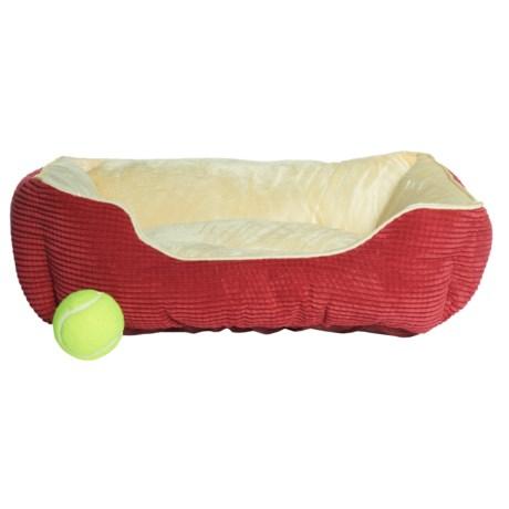 """Animal Planet Cuddler Dog Bed - 20x17"""""""