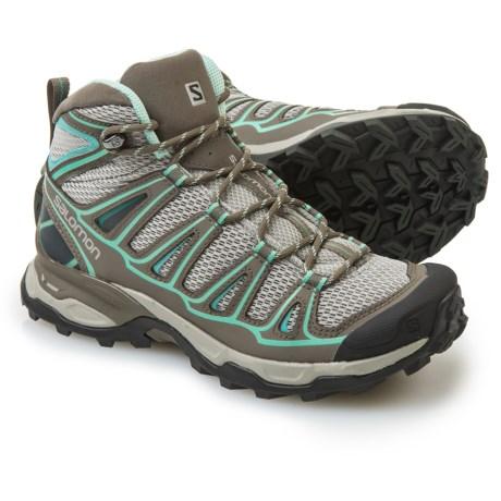 Salomon X Ultra Mid Aero Hiking Boots (For Women)