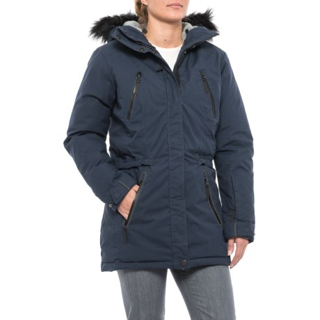Jack Wolfskin Vancouver Bay Down Parka - 700 Fill Power (For Women)