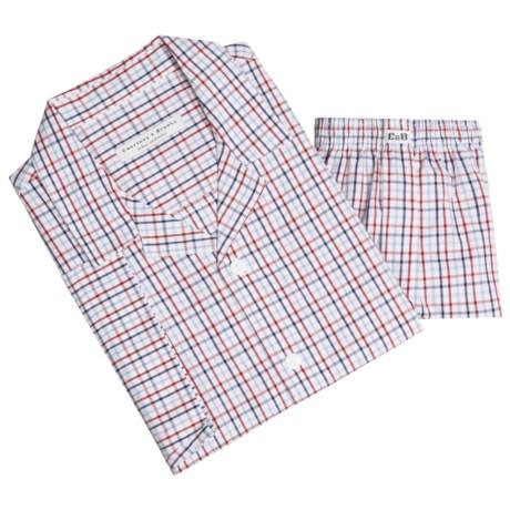 Courtney & Brooks Cotton Pajamas - Short Sleeve (For Men)