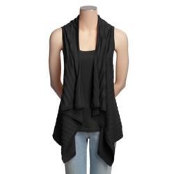 Kinross 2-in-1 Ribbed Shirt - Sleeveless, Tank (For Women)