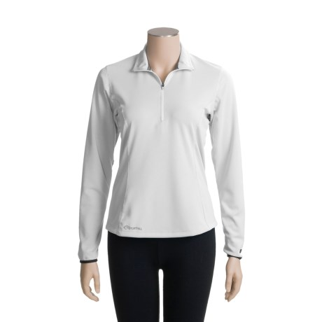 SportHill Invasion Shirt - Quarter-Zip, Long Sleeve (For Women)