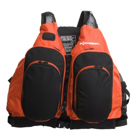 Extrasport Sturgeon PFD Life Jacket - USCG Approved, Type III (For Men and Women)