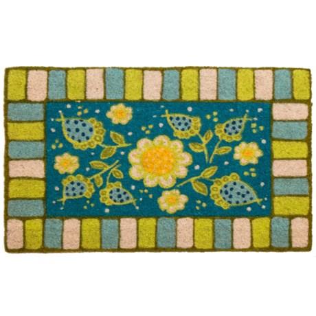 """Entryways Garden Coir Doormat - 17x28"""""""