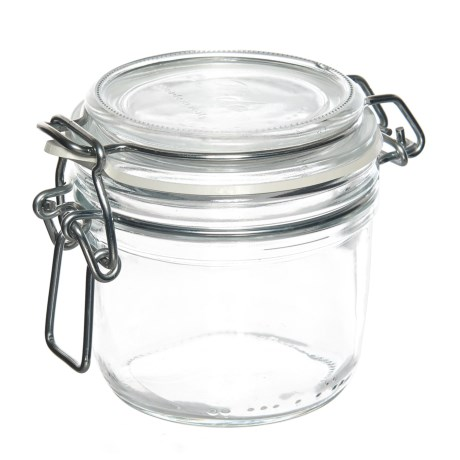 Bormioli Rocco Round Glass Food Storage Container - 6.75 oz.