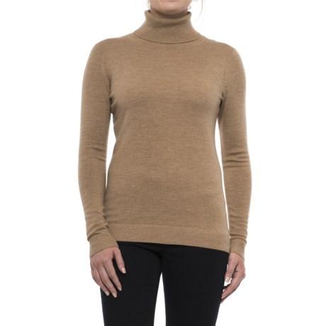 Pendleton Timeless Turtleneck Sweater - Merino Wool, Long Sleeve (For Women)