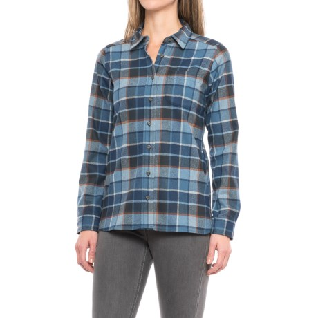Pendleton Meredith Plaid Wool Shirt - Long Sleeve (For Women)