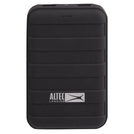 Altec Lansing Lansing Dual-USB Rugged Power Bank - 12,000mAh