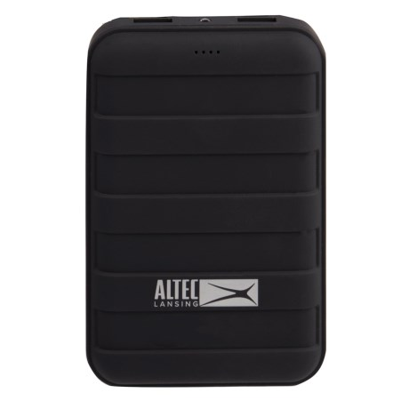 Altec Lansing Dual-USB Rugged Power Bank - 6000mAh