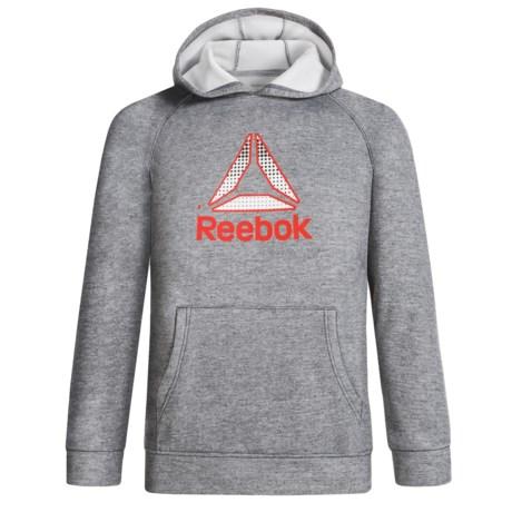 Reebok Delta Dot Popover Hoodie (For Boys)