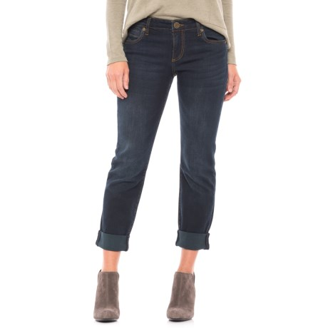 KUT from the Kloth Roll Cuff Jeans (For Women)