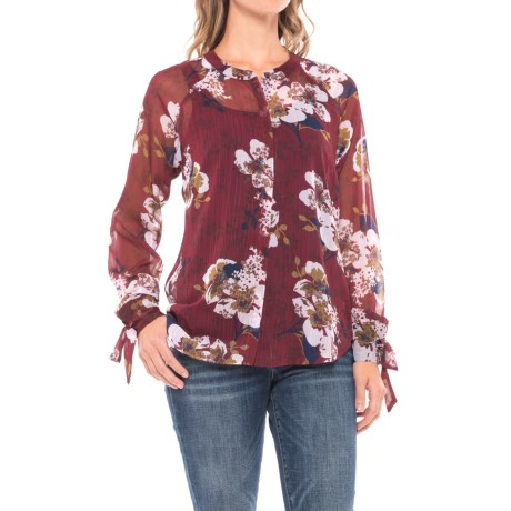 KUT from the Kloth Floral Shirt - Long Sleeve (For Women)