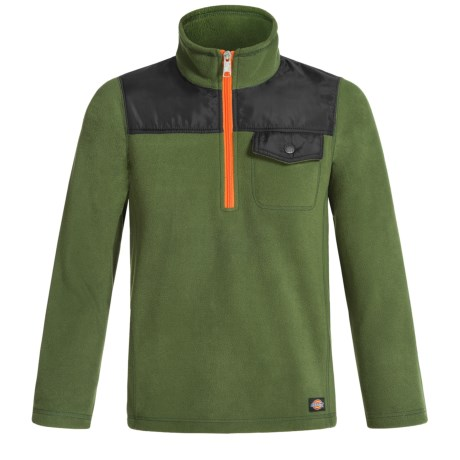Dickies High-Performance Fleece Jacket - Zip Neck (For Boys)