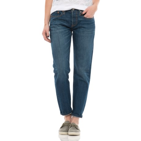 Levi's 501 Tapered Jeans (For Women)